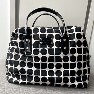 Kate Spade overnight bag